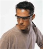 11150350 - Uvex by Honeywell Millennia Safety Glasses, Clear Lens, Black Frame -- GO-81653-20
