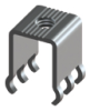 M5 Snap In PC Mount 30Amp-Terminal Only -- 7807 - Image