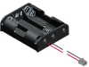 3 AAA Cell Holder with PC connector -- 2480CN