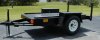 5000 lb Heavy Duty Trailer with Internal Fuel Tank -- 190001