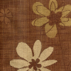 Etched Floral on Textured Ground Fabric -- R-Phoebe -- View Larger Image