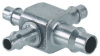 "3/32"" ID to 1/8"" ID Hose Cross Fitting -- X43-303 -Image"