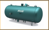 Frick® Recirculator Vessel