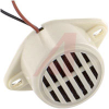 Buzzer, DC; 35 mA; 12 VDC; 400 Hz + 50 Hz; -40 to degC; Lead Wire; 18 mm -- 70115801