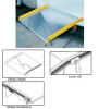 ALUMINUM DOCKBOARDS WITH STEEL CURBS -- HTAS-10-6060