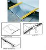 ALUMINUM DOCKBOARDS WITH STEEL CURBS -- HTAS-10-6036