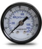 0-160 psi / 0-1100 kPa Pressure Gauge with 1.5 inch mechanical dial -- G15-BD160-8CB - Image