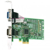 2 Port RS232 PCI Express Serial Card -- PX-257 -- View Larger Image