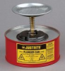 Justrite 10108 1 Quart Steel Plunger Can -- B61607111