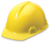 Alpha Cap Hard Hats> COLOR - White > STYLE - Ratchet > UOM - Each -- 12210250 -- View Larger Image