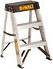 2' Aluminum Stepladder 300 lbs. Load Capacity -- DXL2010-02