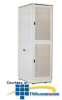 Southwest Data Products Two Compartment Co-Location Cabinet -- SWE3000-2C -- View Larger Image