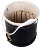 JLMCo Tool Bucket, Canvas, Black Wrap, 12