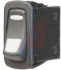 Switch, Rocker, L SERIES, Lighted, SPST, ON-NONE-OFF, 22.1MM X 44.1MM MOUNTING S -- 70131606 - Image