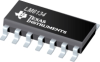 LM6134 Quad Low Power 10 MHz Rail-to-Rail I/O Operational Amplifier -- LM6134AIMX/NOPB -Image