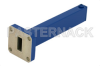 0.5 Watts Low Power Precision WR-42 Waveguide Load 18 GHz to 26.5 GHz, Aluminum -- PE6811 - Image