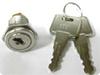 Flat Key Wafer Cam Lock -- LA-3462