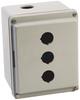 30mm Push Button Enclosure 800H PB -- 800H-3HZ4Y -Image