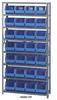 Giant Open Hopper Bin Storage System -- HQSBU-239-B -Image