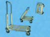 Aluminum Fold-Up Cart -- Model 3081