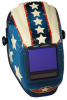 Jackson Safety TrueSight II Halo X Stars & Scars Welding Helmet - Auto-Darkening Lens - 4 in Viewing Width - 3.25 in Viewing Height - 036000-46118 -- 036000-46118 -- View Larger Image