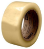 3M Scotch 3072 Clear Standard Box Sealing Tape - 48 mm Width x 100 m Length - 2.3 mil Thick - 64805 -- 051115-64805 - Image