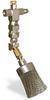 "(Formerly B1049-4X02), Angled Valve Brush, 1 1/2"" Round Stainless Steel, 1/8"" Female NPT Inlet -- B1049-SR4BHW -Image"