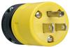 Pass & Seymour® -- Rubber Housing Plug, Yellow - 1447