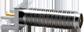 "RP-SMA Female Edge Multi-Mount for 0.031"" Thick Board -- CONREVSMA003.062-L -- View Larger Image"