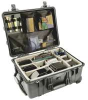 Pelican™ 1630 Case w/Wheels and Padded Dividers -- P1634 - Image