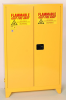 Eagle Tower 45 gal Yellow Hazardous Material Storage Cabinet - 43 in Width - 69 in Height - Floor Standing - 048441-00053 -- 048441-00053