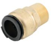 Quick-Connect Male Connectors - Lead Free Brass -- LF4701 -Image