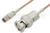10-32 Male to BNC Male Cable 12 Inch Length Using RG178 Coax -- PE36540-12 - Image