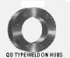 QD Type Weld On Hubs
