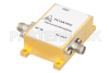 34 dBm IP3, 4.5 dB NF, 22 dBm Psat, 6 GHz to 12 GHz, Low Phase Noise Amplifier 11 dB Gain, SMA -- PE15A1032 -Image