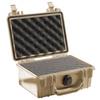 Pelican 1120 Case with Foam - Desert Tan   SPECIAL PRICE IN CART -- PEL-1120-000-190 -Image