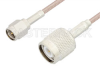 SMA Male to TNC Male Cable 24 Inch Length Using RG316 Coax, RoHS -- PE3174LF-24 -Image