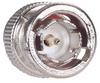RG59B Coaxial Cable, BNC Male / Female Bulkhead, 1.0 ft -- CC59B-MF-1 -Image