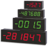 Large 4- or 6-Digit Display -- LDP1 Series