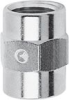 Nickel Plated Brass Pipe Fitting -- 2543 1/2 -- View Larger Image