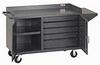 VALLEY CRAFT Vari-Tuff 1500-Lb. Capacity Bench Carts -- 4737700