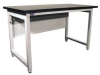 Lab Workbench,White ,60Lx30Wx34 In.H -- LHD603034/HDLE/CGRFW-627 - Image