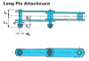 Heavy Duty Collector Chains - Long Pin Attachment