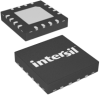 Wide VIN, 7V to 25V, Single-Phase PWM Controller with Integrated MOSFET Drivers -- ISL8106IRZ