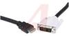 Cable Assy; HDMI to DVI; 19; EMI/RFI -- 70190569