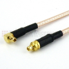 MMCX Plug to RA MMCX Plug Cable RG316 Coax in 36 Inch -- FMC0919316-36 -Image