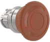 Switch, 22mm, 40 MM E-STOP OPERATOR, UNLIT, TURN TO RELEASE, RED -- 70006987 - Image