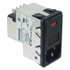 Power Entry Connectors - Inlets, Outlets, Modules -- 3-6609952-7-ND -Image