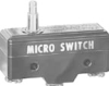 MICRO SWITCH BM Series Premium Large Basic Switch, Single Pole Double Throw Circuitry, 22 A at 250 Vac, Medium Overtravel Plunger Actuator, 1,95 N to 2,78 N [7.0 oz to 10.0 oz] Operating Force, Silver -- BM-1RS-A2 -Image