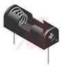 Hldr, Battery; N; 1; Polypropylene (Holder); PC Mount; Springs; PC Pins; 26 AWG -- 70182757 - Image